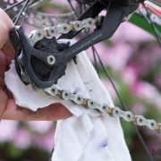 limpiar roldanas de bicicleta