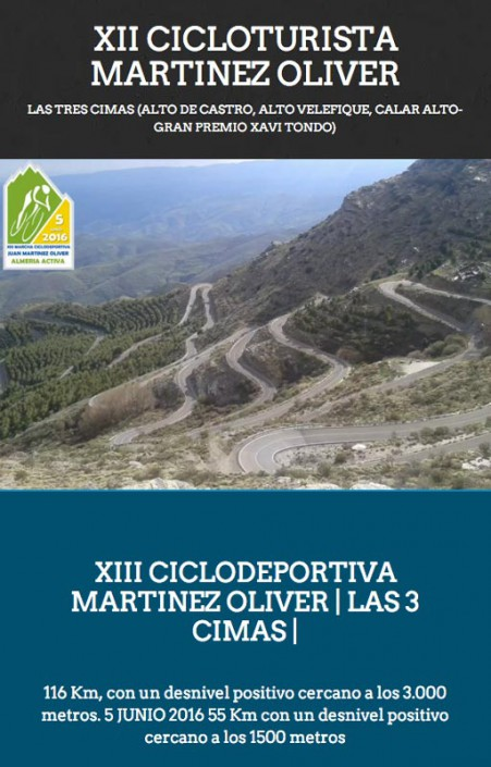 XIII MARCHA CICLODEPORTIVA JUAN MARTINEZ OLIVER