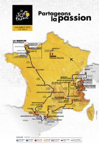 Recorrido Tour de Francia 2016