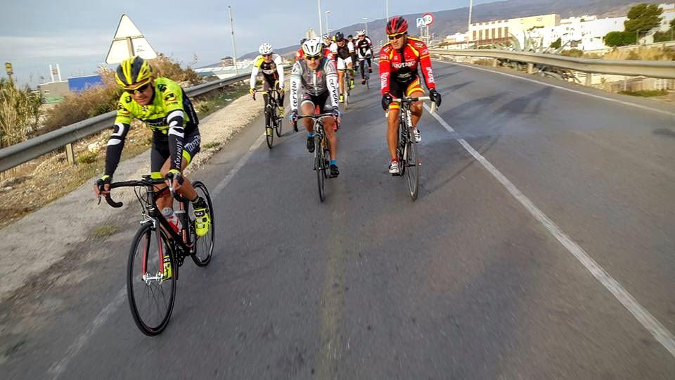 Salida ciclista
