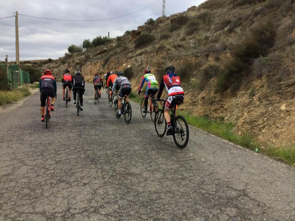 Rutas bici carretera Almería