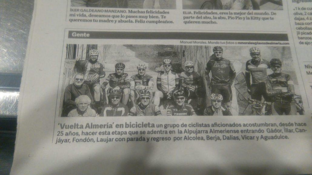 Vuelta a Almería 2018