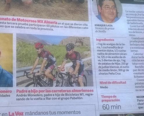 Andrés Monedero El Pabellón Almería
