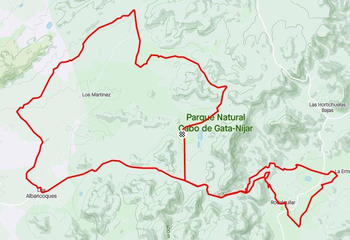 Plano vi ruta mtb natura bike 2021