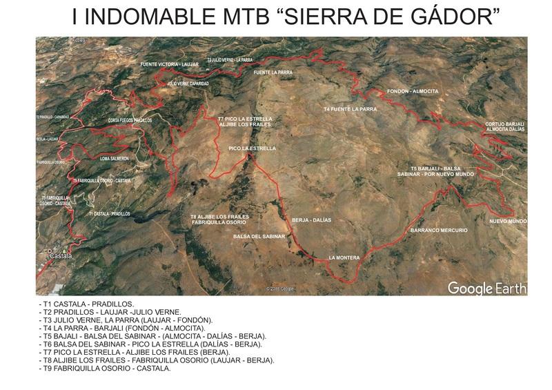 Recorrido La Indomable MTB