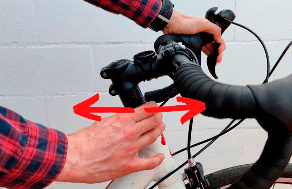 Ajustar dirección bicicleta