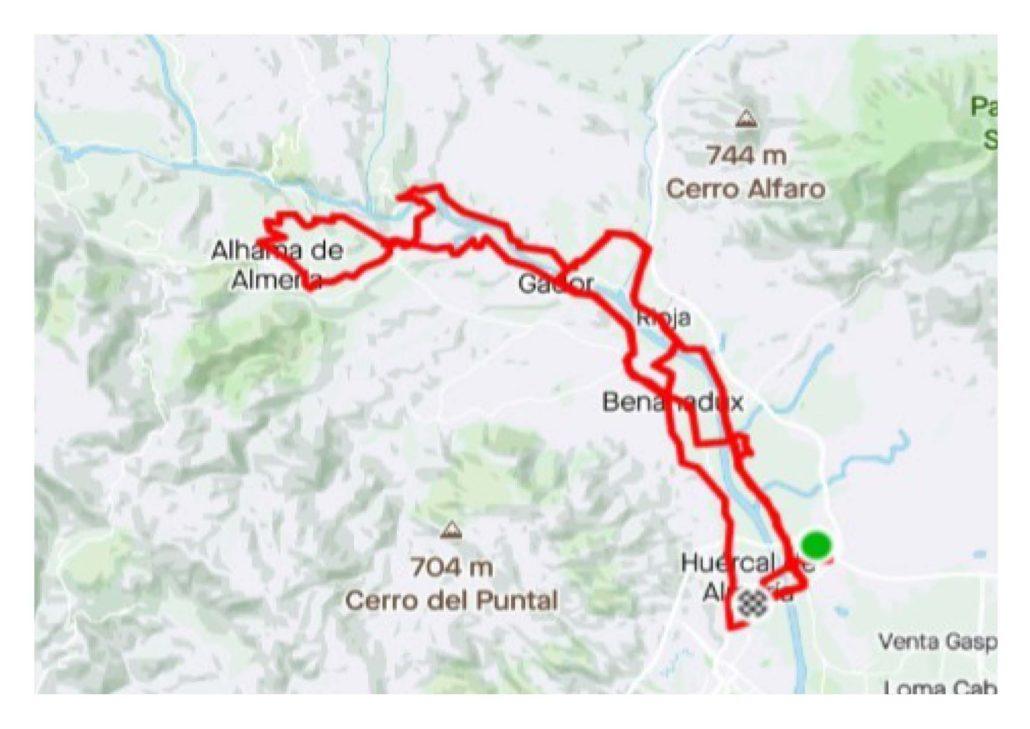 Track IX Marcha Ciclodeportiva de Bajo Andarax 2021