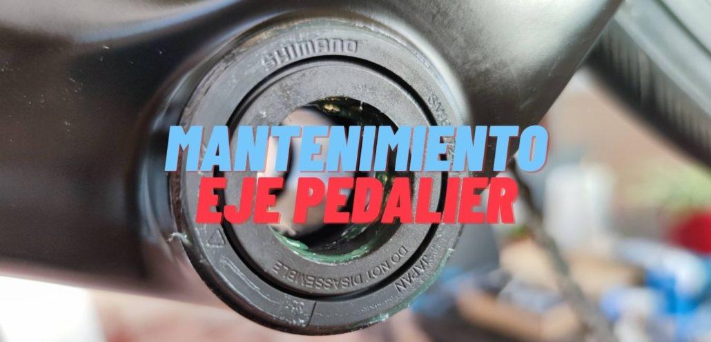 Mantenimiento eje pedalier