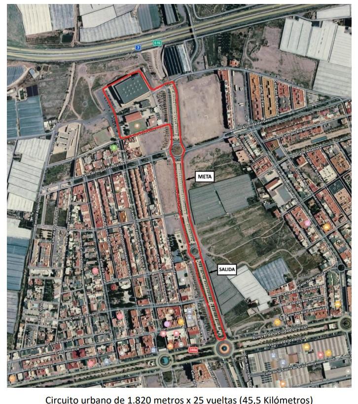 track - I Trofeo Peña Ciclista Muñoz