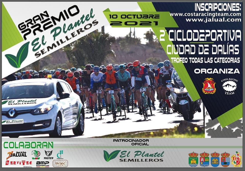 Cartel - II Ciclodeportiva Ciudad de Dalías GP El Plantel Semilleros