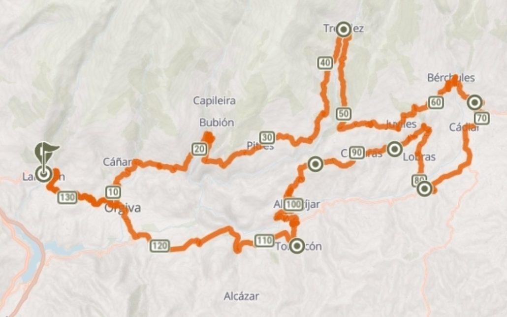 Track Gran Fondo Alpujarra Magna 2021